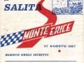 1967 (27-8) - CORSA MONTE ERICE - ELENCO ISCRITTI