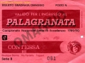 1989 PALAGRANATABIGLIETTO