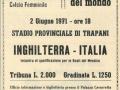 CALCIO FEMMINILE 1971 ITALIA INGHILTERRA. MANIFESTO