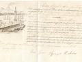 1852 (3-7) - POLIZZA DI CARICO - BOVO - CAP.IGNAZIO RODOLICO