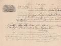 1856 (24-7) - POLIZZA DI CARICO - GOLETTA LA GRAZIA - CAP.SALVATORE SPATARO