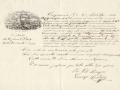 1863 (20-4) - POLIZZA DI CARICO - BOVO IL GARIBALDI - CAP. VITO ADRAGNA