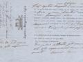 1865 (1-7) - POLIZZA DI CARICO - ARMATORI AGOSTINO BURGARELLA & FIGLIO - BOVO SALVATORE - CAP.FRANCESCO SALVO