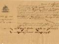 1874 (8-8) - POLIZZA DI CARICO - SPERONARA MARIA DI TRAPANI - CAP.ROSARIO ALIOTTA