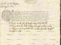 FEDE DI BATTESIMO - 1844 (30-12)