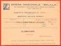OPERA NAZIONALE BALILLA - 1934