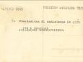 1949 (NATALE) LA COMMISSIONE DI ASSISTENZA IN GIRO PER I SANATORI (VERSO)
