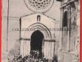 FACCIATA DELLA CHIESA DI S.AGOSTINO E FONTANA SATURNO - GIANQUINTO (1910 circa)
