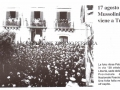 1937 - VISITA DI MUSSOLINI