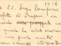 1938 (8-5) PREFETTO DOMPIERI (VERSO)