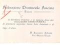 DOTT.GIUSEPPE MAGGIO - SEGRETARIO FEDERALE DAL DICEMBRE 1927 AL 1929
