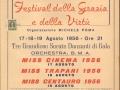 1956 - FESTIVAL DELLA GRAZIA