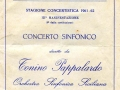 1962 CONCERTO SINFONICO
