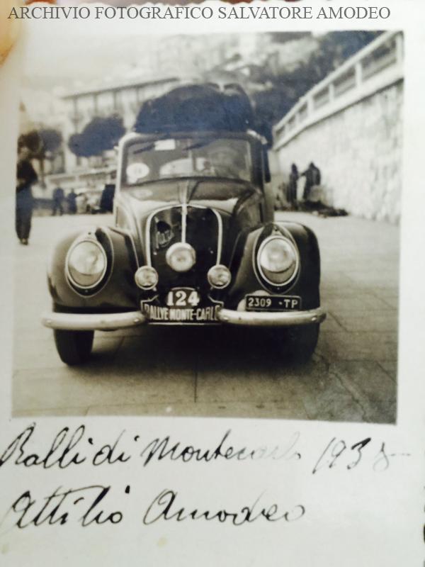 Rally Montecarlo 1938